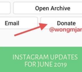 Instagram Updates for June 2019