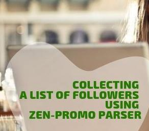 Collecting a list of subscribers using Zen-promo Parser
