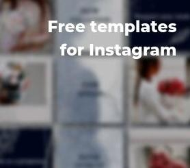 Free templates for Insta