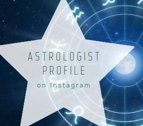 Astrologist profile on Instagram