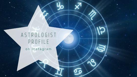 Astrologist profile on Instagram