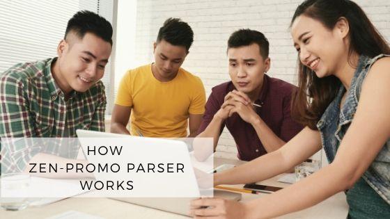How Zen-promo parser works