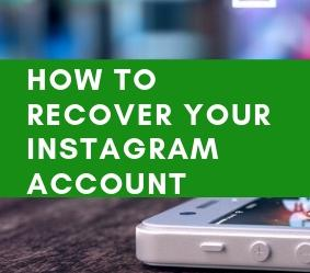How to recover your Instagram account